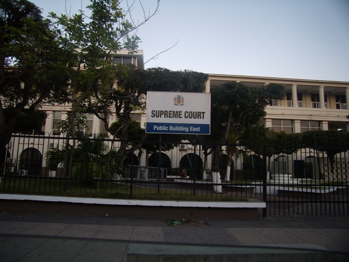 Supreme Court in downtown Kingston